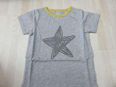 BABY BODEN Boy's Grey Star Top/T Shirt  Age 2-3 Years *BNWT* Short Sleeves