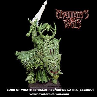 Avatars Of War -  Señor De La Ira (Escudo)- Lord Of Wrath (Shield)- Aow Official