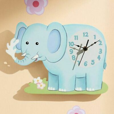 NEW Fantasy Fields by Teamson Sunny Safari Elephant Wall Clock