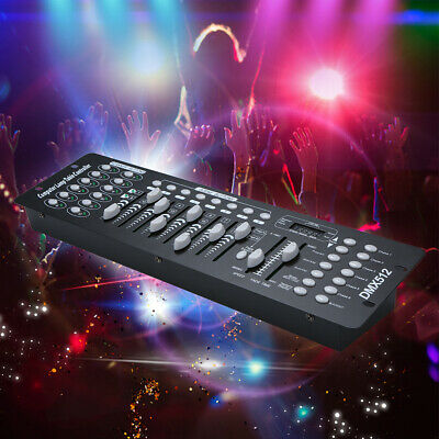 Mini 192 Channels DMX512 16CH Controller Console Stage Lighting Operator U5A7