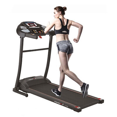 PremierFit T100 Electric Motorized Folding Treadmill Running Machine Speakers