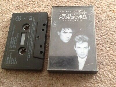 Orchestral Manoeuvres In The Dark, The Best Of OMD, Music Cassette, TCOMD1, 1988