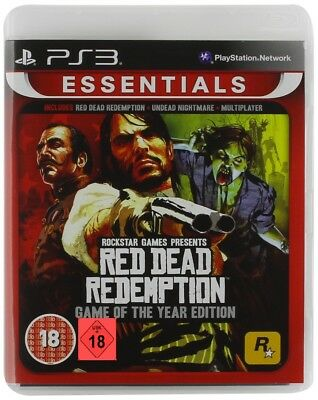 Ps3 Game Red Dead Redemption + Undead Nightmare Goty Game of the Year Edition