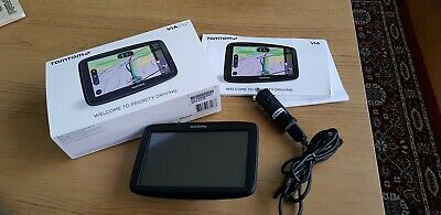 Used tom tom via 52 car sat nav..as new condition.