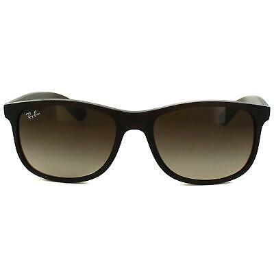 9868584371111 RAY-BAN SUNGLASSES ANDY 4202 606971 Matt Black Green -  106.00 ...