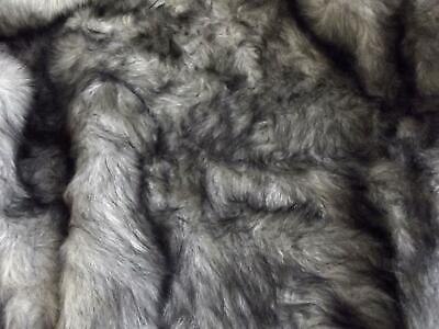 LUXURY Faux Fur Fabric Material - HUSKY