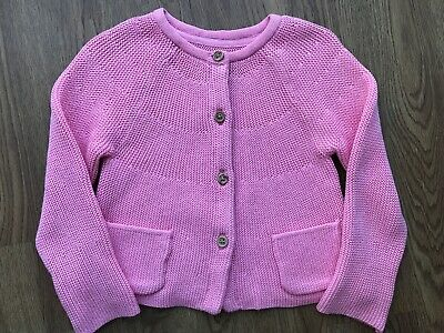 M&S Baby Girl Pink Knit Cardigan 18-24 Months