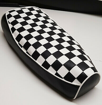 Vespa PX/LML Elasticated Seat Cover Chequered Seat Top