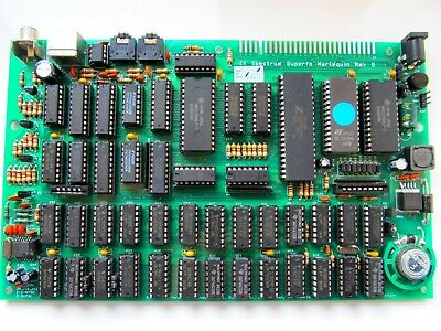 Fully assembled revision G Harlequin 48K ZX Spectrum clone.