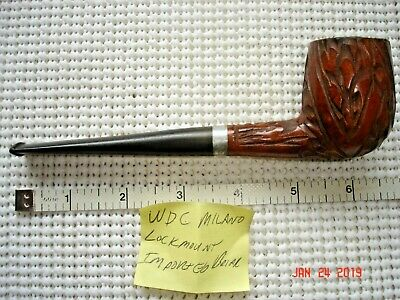 WDC Milano Lockmount Imported Briar Estate Pipe