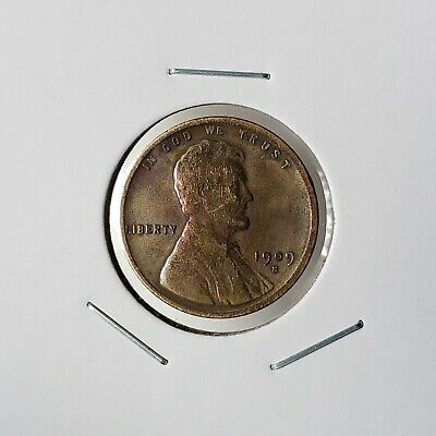1909-S VDB Lincoln Cent - Fine Details /Heavily Cleaned - Key Date