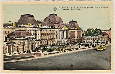 "Royal Palace of Brussels, Belgium - ""Bruxelles Palais du Roi""  in Early 1900's"