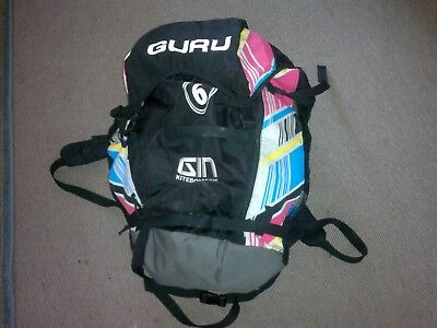 gin guru 6m kite with bar and lines 2012