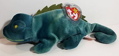 """TY Beanie Babies """"IGGY"""" the IGUANA - MWMTs! RETIRED! A MUST HAVE! GREAT GIFT!"""