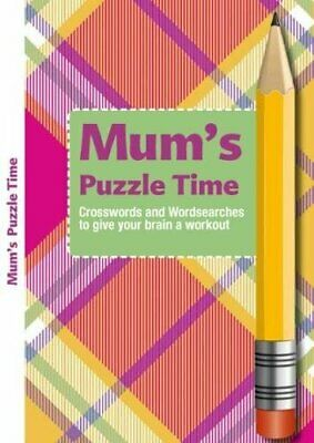 Mum's Puzzle Time Book The Cheap Fast Free Post
