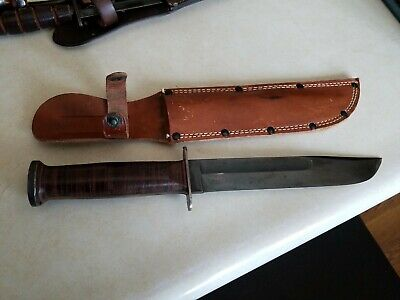 WW2 Western Boulder Pat'd  G-46-8 US Military Fighting Knife, Minty !