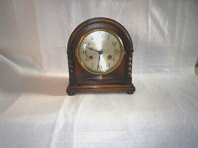 Vintage Junghans OAK Mantle Clock