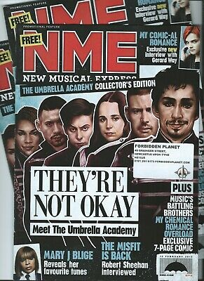 Nme The Umbrella Academy My Chemical Romance Gerard Way Collectors Edition 2019