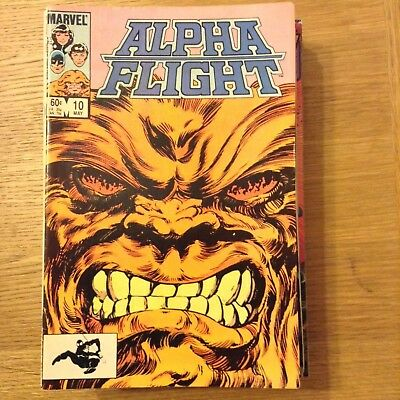 Alpha Flight issue 10 from May 1984 - discounted post