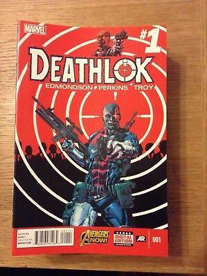 Deathlok issue 1 (VF) from December 2014 - discounted post