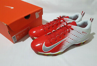 b133f820607 Nike Vapor Untouchable Shark 3 Mens Football Cleats Size 12 917168-106 Red  White