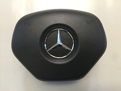 Mercedes C E Class 204 207 208 Drivers Flat Bottom Steering Wheel Airbag