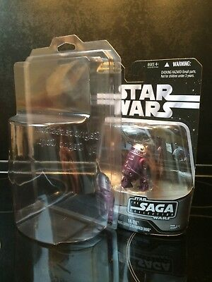 Star Wars – LOT OF 75 PROTECTIVE CASES for the SAGA COLLECTION Carded Figures