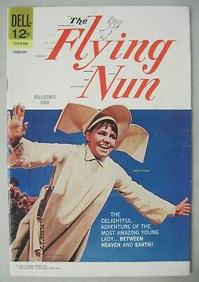 The Flying Nun #1 February 1968 Dell Comics Sally Field Tv Photo Cover