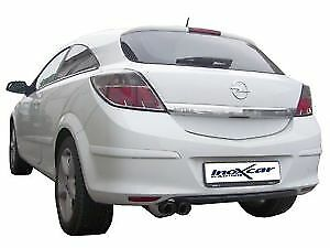 PROWLER SPORTS EXHAUST MUFFLER  BACK BOX ASTRA H GTC 1.6 T SRi 180BHP  S/STEEL.