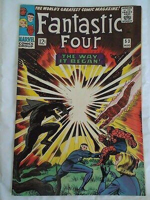 Fantastic Four #53 (Vol One 1966) - 2nd appearance of the Black Panther