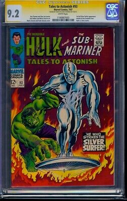 Tales to Astonish #93 CGC 9.2 SSx2 Stan Lee & Thomas! 1st Silver Surfer CO