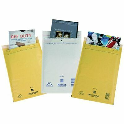 Mail Lite Bubble Padded Envelopes Mailer Bags White or Gold A000 B00 D1 F3 E2 J6