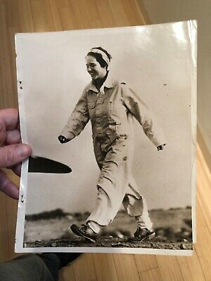 1920's Press Photo Aviator Charles Lindberghs Wife