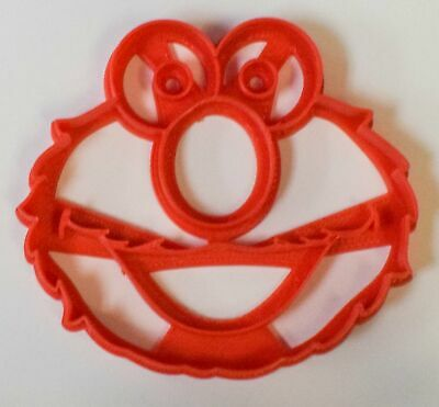Elmo Sesame Street Kids Tv Character Special Occasion Cookie Cutter Baking Tool