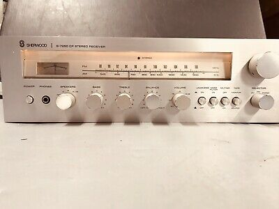 Vintage Sherwood S-7250 CP Stereo Receiver Amplifier