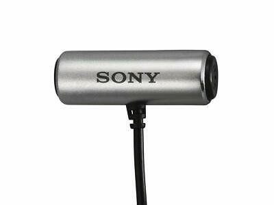 SONY ECM-CS3 Condenser Compact Business Microphone Tie clip JAPAN IMPORT