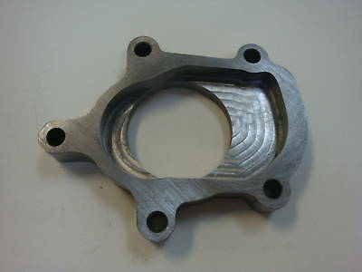 """TB28 Downpipe Flange fits knock-off ebay turbo 2.5"""" OD Imported Turbocharger T25"""