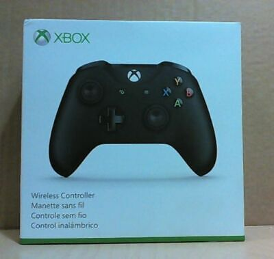 NEW OPEN BOX Microsoft Xbox One Wireless Controller Black 1708 $75