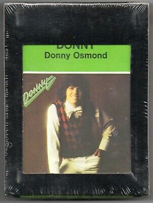 DONNY OSMOND Sealed 8-Track Tape MGM Records 1974 Pop Rock Music Disco Marie