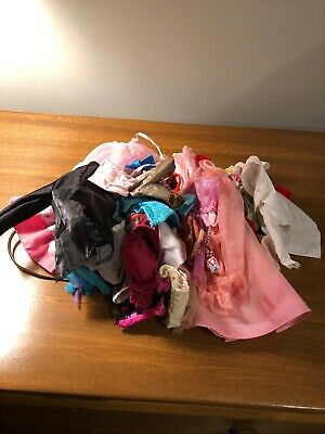Lot Of Barbie An Other Fashion Doll Clothes  Lot
