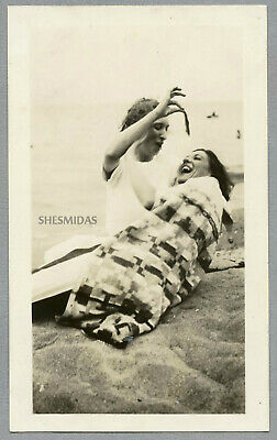 #377 A Fish Tale, Woman-ly Hijinx at the Lake, Vintage Photo