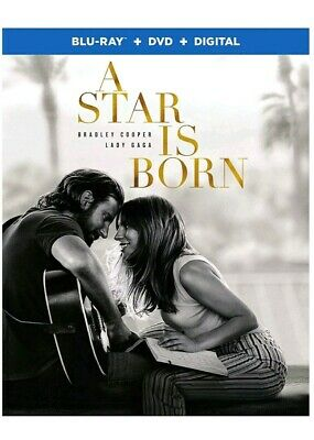 A Star Is Born - DVD (Disc Only) New! Bradley Cooper & Lady GaGa Movie. No Case.