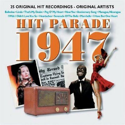 Various Artists - Hit Parade 1947 - Various Artists CD 4MVG The Cheap Fast Free