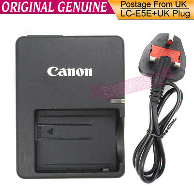 Genuine Original Canon LC-E5E LP-E5 Battery Charger for EOS 450D 500D 1000D X2