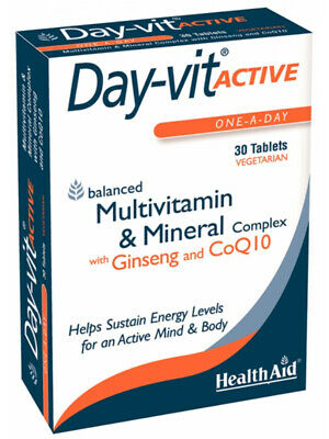 Day-Vit Active Multivitamin Supplement, 30 Tablets (Health Aid)