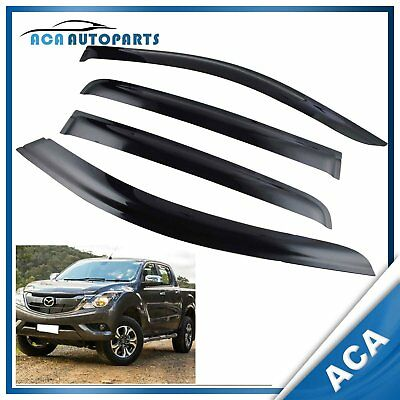Weather Shield for Mazda BT50 Dual Cab 2012-2018 Weathershields Window Guard