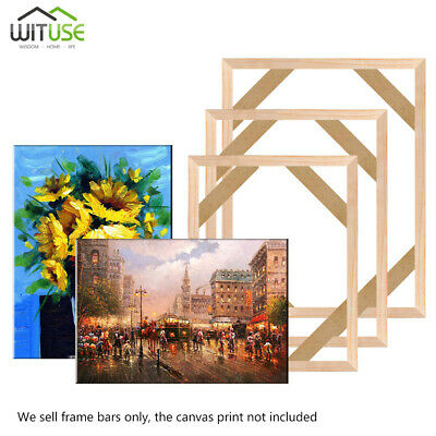 Photo Wooden Canvas Frame Kit For Oil Painting Wall Art Decor Multiple Sizes