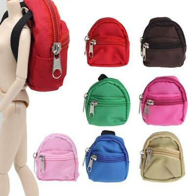 Doll Backpack Bag Accessories Mini Barbie Toys BJD Children Cute 7 Colors Gifts