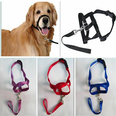 Pet Dog Useful Mask Mesh Soft Mouth Muzzle Anti Bark Bite Grooming Stop Chewing