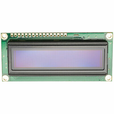 Winstar WEH001602AWPP5N00000 16x2 OLED White Characters On Black Background